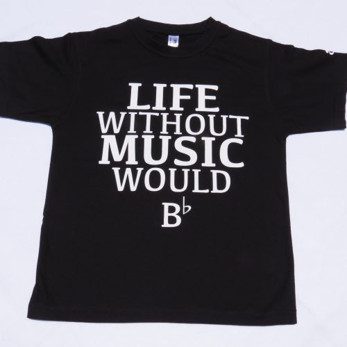 Life would B flat_music_t shirt
